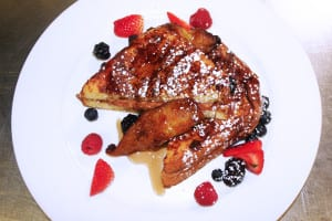 French Toast (Apple Walnut Cream Cheese Stuffing)