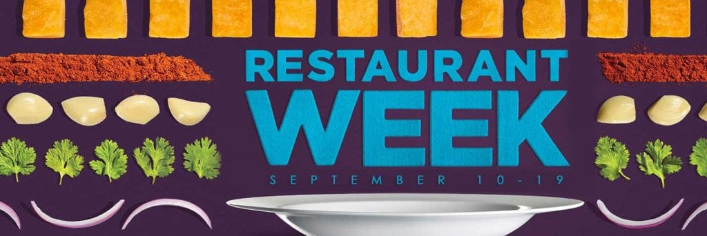 Restaurant Week Fall 2017